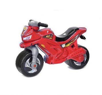 Мотоцикл 2-х колісний, червоний