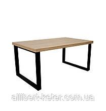 """Обідній стіл """"Шерман"""" Дуб Античний 1400*800*34 ()"""