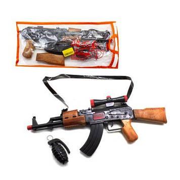 """Автомат-трещітка """"AK-47"""" з гранатою"""