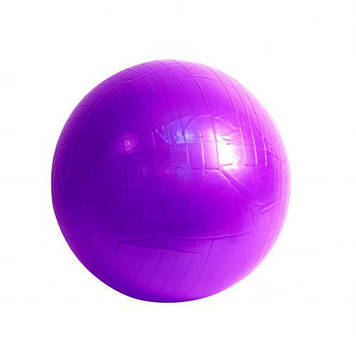 М'яч для фітнесу, 65 см (фіолетовий)