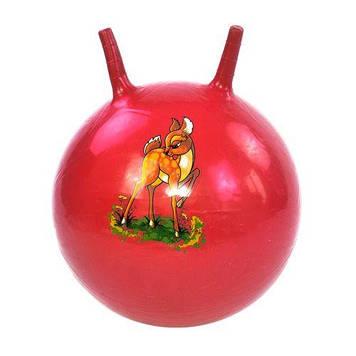 М'яч для фітнесу , 45 см (червоний)