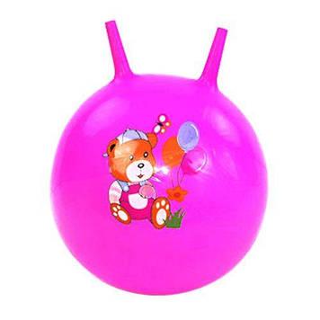 М'яч для фітнесу , 45 см (рожевий)
