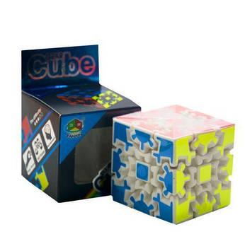 """Головоломка на шестернях """"Gear Cube"""" (біла)"""