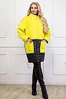 Пальто трансформер демисезонное большого размера (размеры 48-62)