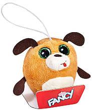 М'яка іграшка-брелок Fancy глазастик собачка 8 см (GSU0)