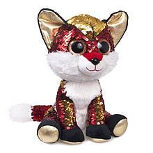 М'яка іграшка з паєтками FANCY Лисеня Опал (GLN0P)
