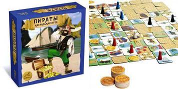 """Настільна гра """"Пірати"""""""