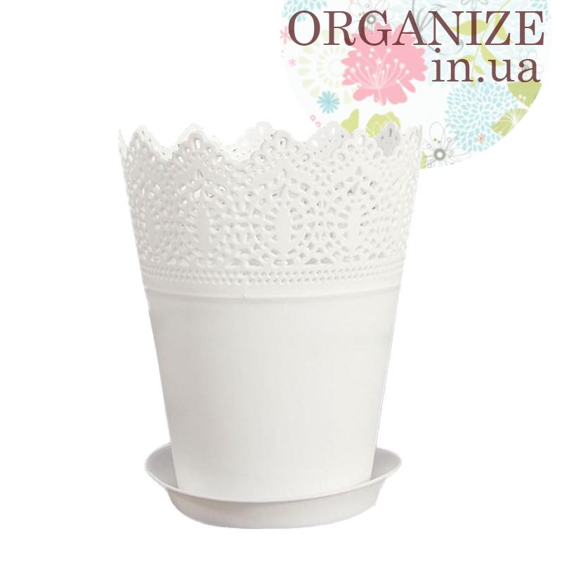 Горшок для растений Ikea (белый)