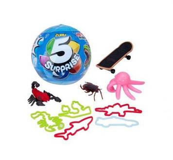 """Шар-сюрприз """"5 Surprise Toys"""", для мальчика"""