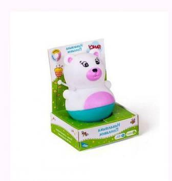 """Игрушка для ванной """"Неваляша - поплавок. Мишка"""""""