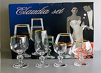 Набор бокалов (50/180/190/250 мл/24шт.) BOHEMIA Claudia 40149 20746 50-24