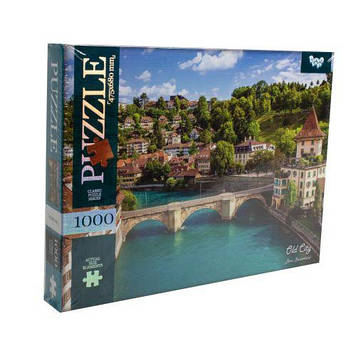 "Пазлы ""Старый город, Берн, Швейцария"", 1000 элементов"