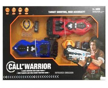 """Зброя (бластер) з мішенню """"CALL of WARRIOR"""""""