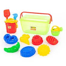 Іграшки для пісочниці в контейнері Polesie №502 (50182-1)