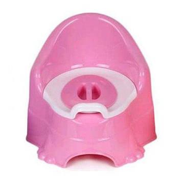 Горшок детский розовый.