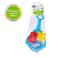 Набір іграшок для ванної FANCY BABY «Весела рибалка» (BATH5)