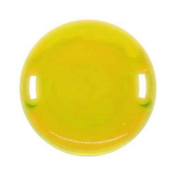 """Санки-ледянка """"НЛО"""", 61 см, жовтий"""