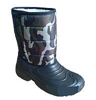 Резиновые сапоги мужские зимние «Охотник-24»