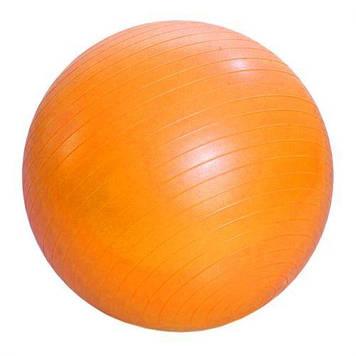 М'яч гумовий для фітнесу , 55 см (помаранчевий)