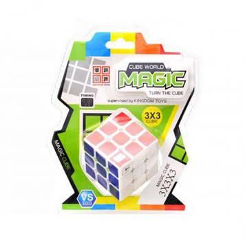 Кубик Рубіка з таймером, білий