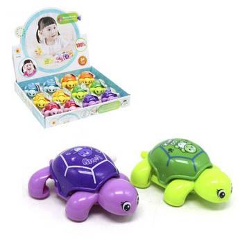 """Набор заводных игрушек """"Черепаха"""", 12 штук"""