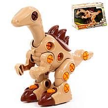 """Динозавр-конструктор POLESIE """"Велоцираптор"""" 36 елементів у коробці (76809)"""