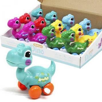 """Заводна іграшка """"Динозаврик"""", 12 шт"""
