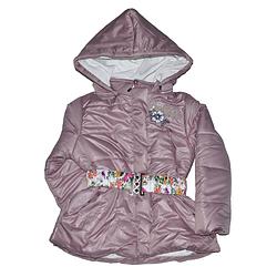 Удлиненная курточка для девочки от 5 до 7 лет