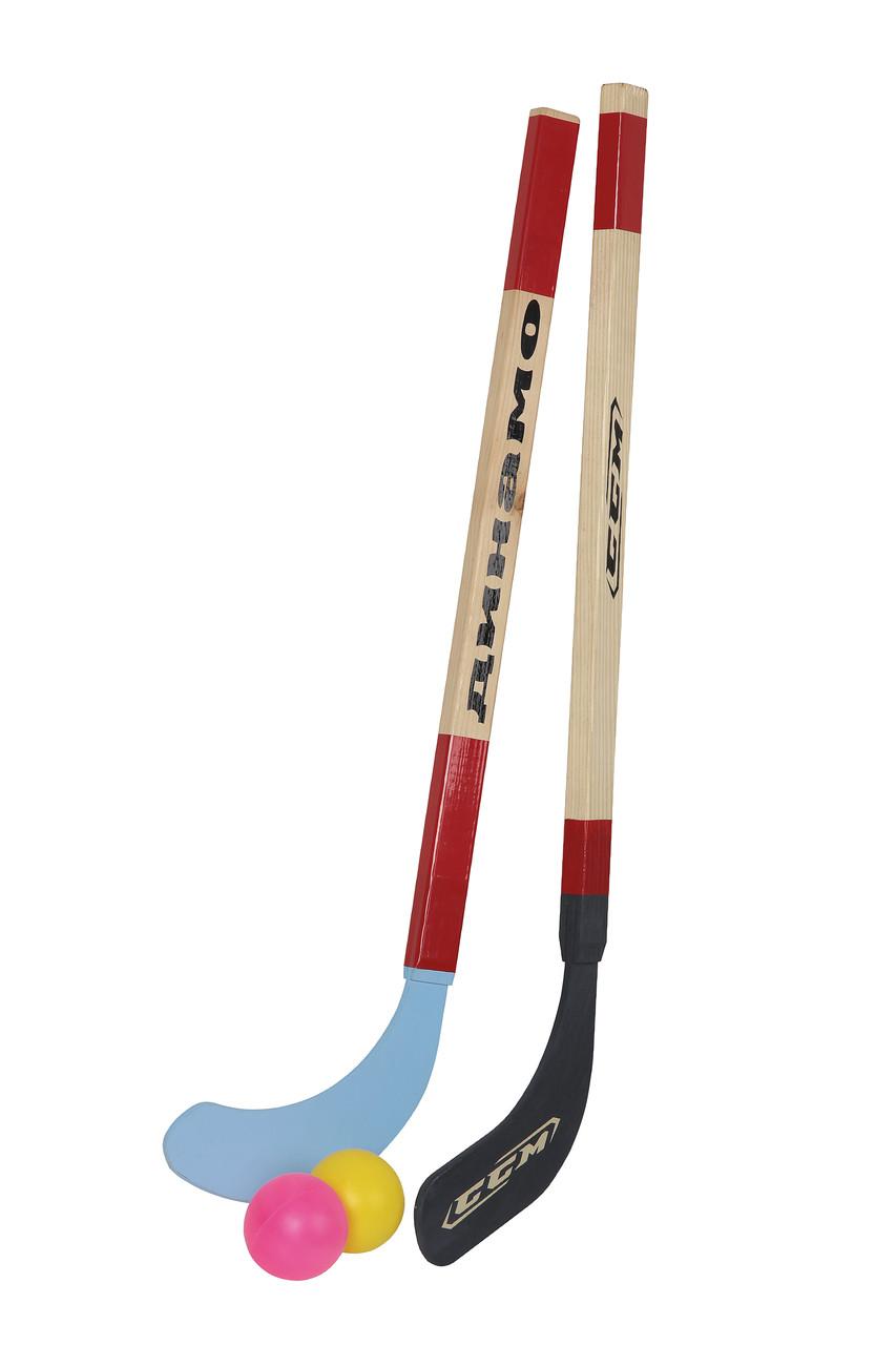 Хоккей на траве (2 клюшки, 2 шарика) - ИГРОДОМ в Днепре