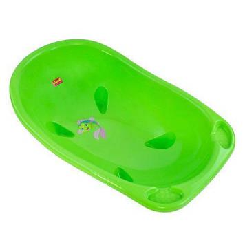 Детская ванночка, зеленый