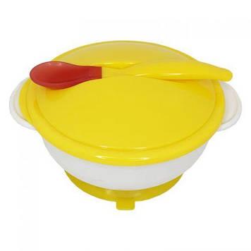 Набор для кормления, жёлтый