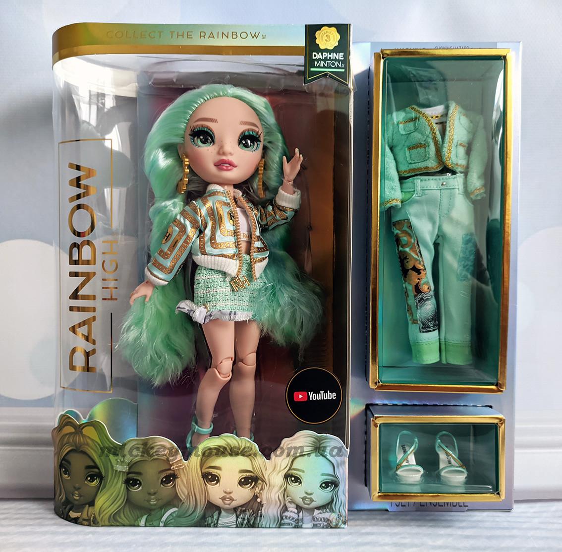 Кукла Рейнбоу Хай Мята Rainbow High S3 Daphne Minton 575764 Пром-цена