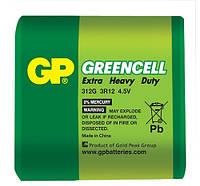 Батарейка GP 312G-S1 Greencell 3R12, 210 (4,5V, трей, 10/240)