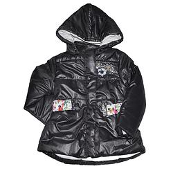 Удлиненная курточка для девочек от 5 до 7 лет