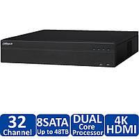 32-канальный 4K сетевой видeорегистратор Dahua DH-NVR4832-4K