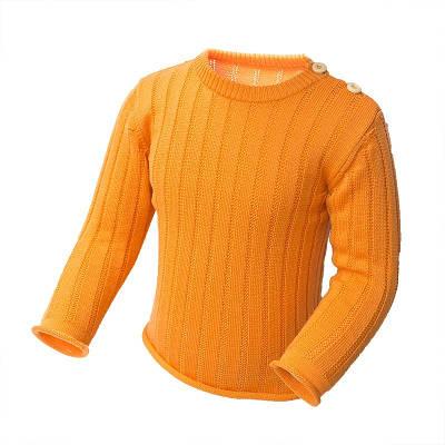 Джемпер из шерсти мериноса София 111-1-2 86-92 см Оранжевый