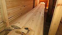 Блок хаус 35х135 мм. (блок-хаус, имитация бревна) Сосна сайдинг