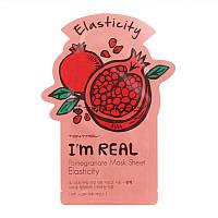 Маска для лица с экстрактом граната Tony Moly I'm Real Pomegranate Mask Sheet