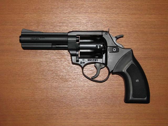 """Револьвер под патрон флобера Kora Brno RL4"""""""