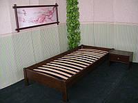 Кровать без изголовья (массив - сосна, ольха, дуб).