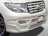 Юбка передняя на Toyota Land Cruiser 200-