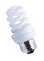 Лампа энергосберегающая S 23w E27 2700K Евросвет