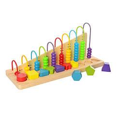 Деревянная игрушка Набор первоклассника Bambi MD 2423 (Фигуры)