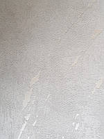 Шпалери метрові вінілові на флізелін Marburg Villa Romana абстракція під штукатурку світло сірі з сріблястим, фото 1