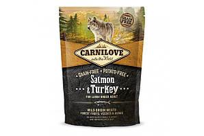 Корм Carnilove Adult Large Breed Salmon & Turkey для великих порід з лососем та індичкою 1,5 кг