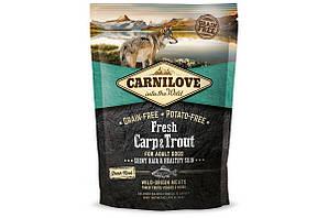 Корм Carnilove Fresh Carp & Trout for Adult dogs короп та форель для дорослих собак 1,5 кг