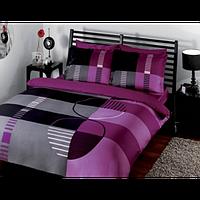 Постельное белье Тас сатин делюкс Vision фиолетовый полуторное