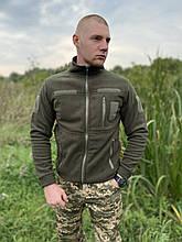 КОФТА ФЛІСОВА COMANDER-І ОЛИВА