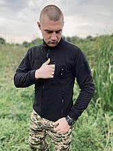 КОФТА ФЛІСОВА COMANDER-І ЧОРНА