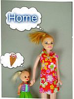 Кукла мама с дочкой